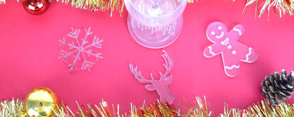 décorations de table plexiglas